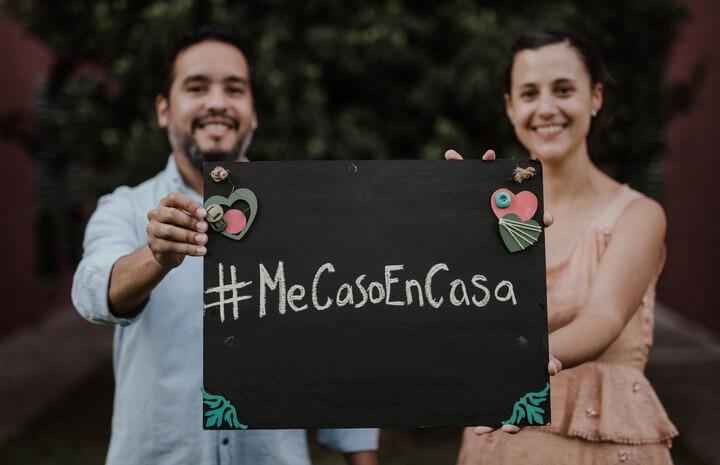 #MeCasoEnCasa