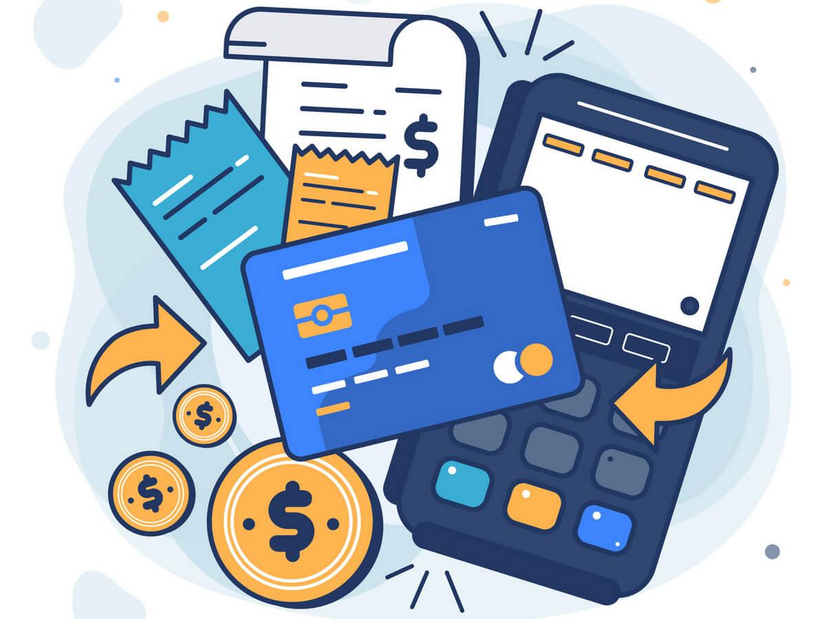 Pago tarjeta de crédito ticket factura