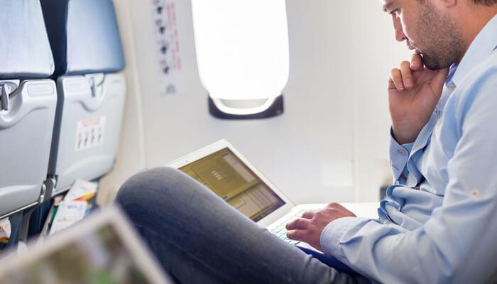 Viajes con notebook y celular